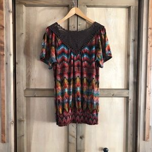 Maurices Tops - Maurice's Size 0 Plus Size Top Blouse
